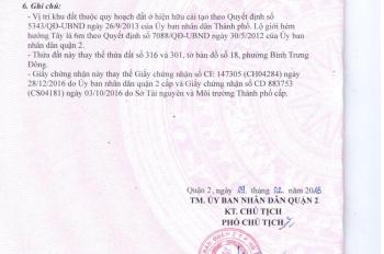 Cần bán gấp lô đất Nguyễn Đôn Tiết, cách bệnh viện Quận 2 chỉ 800m, dân cư đông, giá 1 tỷ 8, SHR