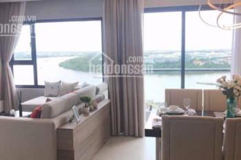 Cho thuê 3 căn 3 phòng ngủ, 112m2 tháp Hawaii dự án New City Thủ Thiêm, view trực diện sông Sài Gòn