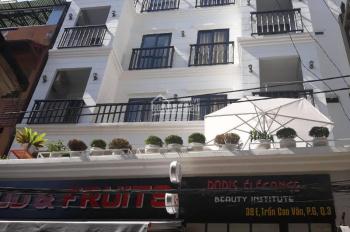 Bán tòa nhà văn phòng đường Trần Cao Vân ngay Hồ Con Rùa, hầm 6 lầu 9x20m