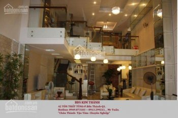 Cho thuê nhà 165 Nguyễn Thái Bình, 5m x 20, trệt- 4 lầu, 8 phòng, nhà mới, giá 50 triệu. 0913299211