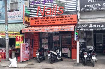 Bán nhà 150 Gò Xoài, Q. Bình Tân, DT: 4x25m, 1 trệt + 1 lửng, kinh doanh sầm uất, giá 8,6 tỷ