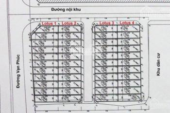 Bán rẻ căn LK GoldSilk 430 đường Cầu Am, Vạn Phúc, Hà Đông giá 8,5 tỷ, LH 0971868517