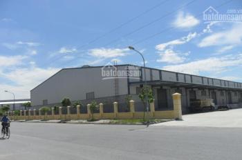 Cho thuê kho bãi, nhà xưởng nằm trên đường trung tâm trong KCN Long Hậu thuộc xã Long Hậu, CG