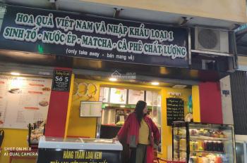 Bán nhà Thái Thịnh đang kinh doanh quán cafe đường 2 ô tô tránh nhau, mặt tiền 5.7m, LH: 0982277000