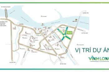 Hưng Thịnh mở bán 10 nền VIP đường 30m TTTP Vĩnh Long.giá 1,4 tỉ/125m2.LH 0908261288 A Quốc