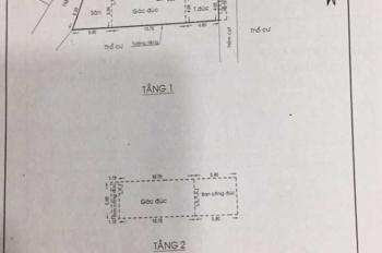 Chính chủ cần bán nhà 2 mặt tiền hẻm, đường Tân Mỹ, số 132/1, khu phố 4, phường Tân Thuận Tây