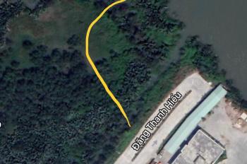 Chính chủ bán đất 6300m2 tại phường Phú Hữu, Quận 9, (đối diện Cảng JTC), có đường nội bộ vào