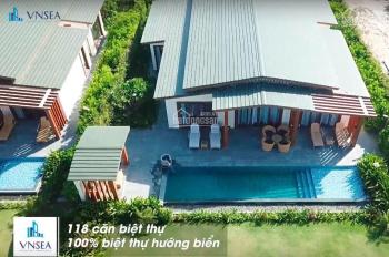 Chính chủ cần bán lại lô biệt thự Movenpick Cam Ranh, căn 3 ngủ mặt biển, vốn đầu tư 5,8 tỷ