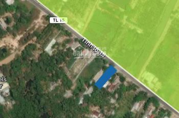 Bán đất mặt tiền đường TL15, Phú Mỹ Hưng, Củ Chi, DT: 15x 50m, giá 3.8 tỷ