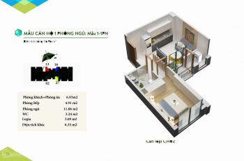 Tôi cần bán căn hộ 1PN, 36m2, 680tr tại Bãi Cháy, giá rẻ nhất thị trường