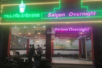 Cần cho thuê or sang nhượng quán mặt tiền Saigon Overnight ở chợ Hạnh Thông Tây. 0902542803