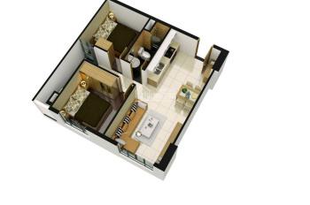 Cần bán căn hộ BCon giá chỉ 885 triệu/ 47m2 ( 2PN-1WC) full thuế phí LH 0967448523