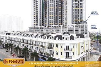 Cho thuê CHCC Pegasuite Q8.68m2, giá 8.5tr/th, nhà mới 100% dọn vào ở ngay. LH 0934212177