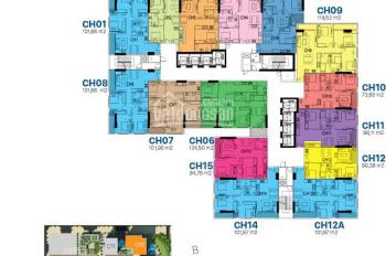CC bán CC Sunshine Riverside, Tây Hồ: 66m2-R3 và 119m2-R2 tầng 18, giá 36 tr/m2, 0989 582 529
