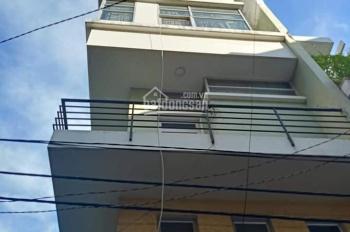 Cho thuê nhà mặt tiền đường Số 21, P4, Q. 4, diện tích 5m x 10m gồm 1 trệt + 3 lầu + ST căn góc