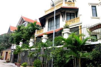 Cho thuê biệt thự sân vườn phố Trần Phú - Ba Đình, DT 250m2 x 3 tầng, MT 15m KD đa ngành