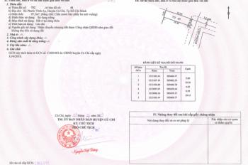 Bán 97m2 đất đường 20m, đường Nguyễn Thị Lắng, gần KCN Tân Phú Trung LH 0982032645