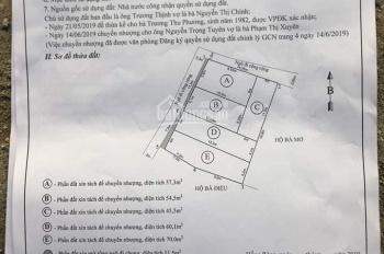Bán lô góc 57m2 mặt tiền 5m ngay tại Cam Lộ, Hùng Vương, Hải Phòng - Giá chỉ 460 triệu