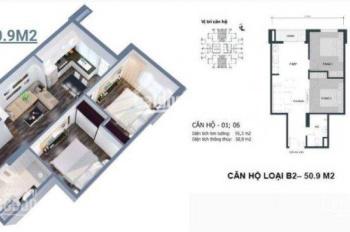 Bán chung cư Mipec City View, Kiến Hưng, Hà Đông, giá từ 835 triệu đồng, vay 70% GTCH, 09.0344.0345