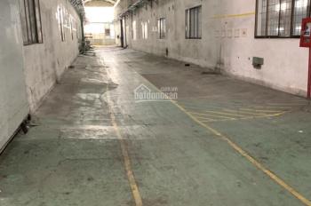 Cho thuê 12.000m2, trong đó có xưởng 7.000m2, tọa lạc ngay mặt tiền đường Trần Đại Nghĩa