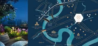 Bán căn hộ 2PN Feliz En Vista view sông và công viên tầng cao, giá 4,45 tỷ. LH 0912381539