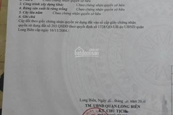 Cần bán đất tổ 13 phường Thạch Bàn (gần chợ, gần nhà văn hóa tổ 13, ô tô đỗ cách 10m)