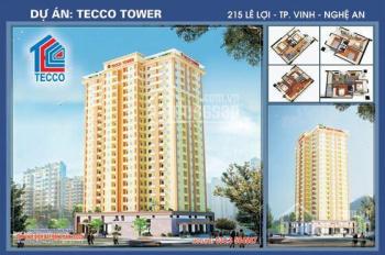 Gia đình có căn chung cư Tecco 215 Lê Lợi cần cho thuê. Ưu tiên gia đình và người nước ngoài