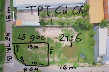 Bán gấp lô góc 2 MT xã Tân Phú TRung, Củ Chi LH: 0903.165.035