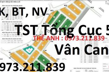 Bán đất liền kề Vân Canh giá rẻ chính chủ, 0973.211.839