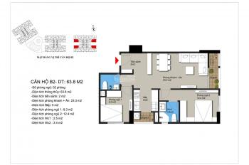 Cho thuê căn hộ gần Mỹ Đình, full nội thất giá chỉ từ 5,5 triệu căn 2 - 3PN