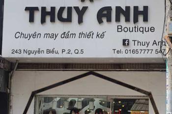 Chính chủ cần bán nhà mặt tiền Nguyễn Biểu Quận 5 giá 12.5 tỷ. LH 0939816388