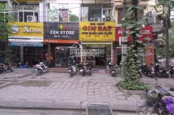 Chính chủ cho thuê nhà mặt phố Trần Quốc Hoàn, MT 5,5m, 60m2, giá 27 triệu