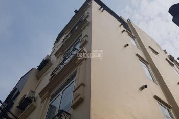 Cho thuê nhà 5 tầng, DT 60m có thang máy, xây hiện đại tại ngõ 236 Âu Cơ, Tây Hồ Hà Nội