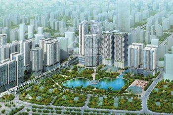 Bán căn hộ 02 chung cư N01T8 Ngoại Giao Đoàn, 121.72m2, 3 PN, view hồ điều hòa, 32.5 triệu/m2
