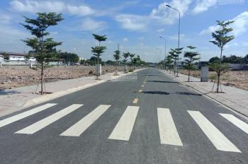 Bán đất đã có sổ riêng từng nền, ngay chợ, gần vòng xoay An Phú, Thuận An. 0908.440.212