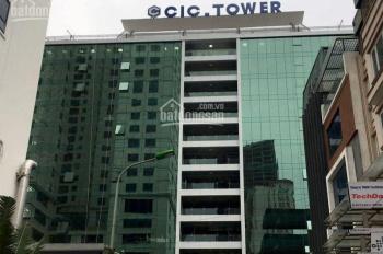 Cho thuê văn phòng tòa nhà CIC Trung Kính diện tích 140m2, 300m2, 1000m2 giá thuê 280 nghìn/m2/th