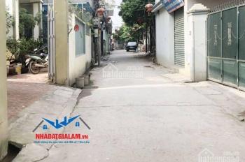 Bán đất mặt ngõ Cửu Việt 2, Trâu Quỳ, Gia Lâm, DT 51,4m2, mặt tiền 4,36m, hướng TB