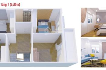 Nhà ở xã hội Bến Cát, nhà liền kề 1 trệt 1 lầu