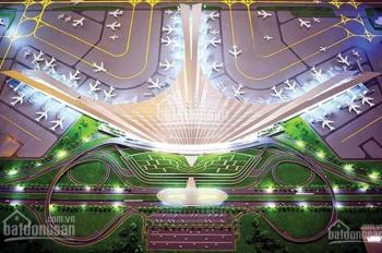 Cơ hội vàng cho nhà đầu tư và KH muốn ở an cư. Siêu dự án TP vệ tinh sân bay, đời F0, 10tr/m2