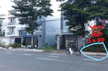 Chính chủ cần bán đất nền dự án 5x20m khu dân cư Phú Lợi, Phạm Thế Hiển, P.7, quận 8, Hồ Chí Minh