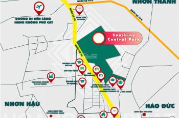 Bán đất nền Quy Nhơn chỉ 1 tỷ/nền gần sân bay, Quốc Lộ 1A, gần FLC Quy Nhơn. LH 0935390883