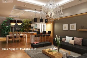 Bán chung cư 17T Hoàng Đạo Thúy, DT 158m2, 4PN, 3WC, BC Đông Nam giá rẻ có TL 09.1818.6169