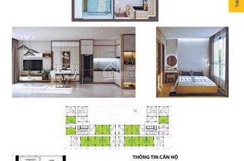Sang nhượng căn hộ 2 phòng ngủ, 2WC, view hồ bơi siêu đẹp Bcons Miền Đông. LH: 0932 929 942