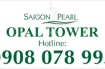 Bán căn hộ 1PN dự án Opal Tower-Saigon Pearl chỉ 3,1 tỷ - Hotline PKD 0908 078 995 hỗ trợ xem nhà