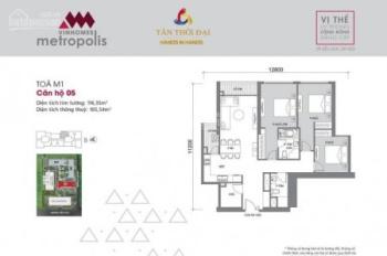 Bán lại căn hộ M2-2004, căn 2 phòng ngủ, view hồ bán cắt lỗ, giá 6,5 tỷ, liên hệ: 0916568855