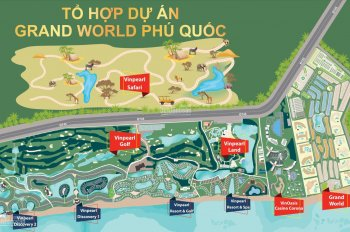Bán lỗ vốn căn shophouse Grand World Phú Quốc để định cư. Giái tốt nhất thị trường hiện nay