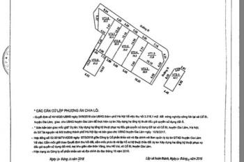 Bán đất đấu giá hồ Voi - tái định cư Voi Phục - 60,9m2 - mt 4m - giá 51tr/m2 - LH 0941770706