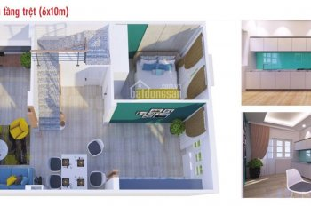Bán nhà ở khu thương mại trung tắm thị xã Bến Cát - LH: 0979160268