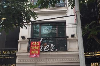 Cho thuê nhà MP Phố Huế, 80m2 x 2 tầng, MT 4m, giá 56 triệu/tháng. Đoạn đẹp nhất phố