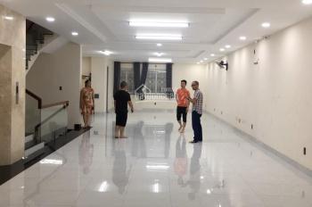 Nhà mới 100% y hình mặt tiền suốt có hầm - DTSD: 640m2 đường S9, Q. Tân Phú